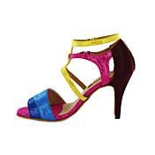 Zapatos de baile (Multicolor) - Danza latina/Salón de Baile - Personalizados - Tacón Personalizado
