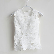 Camiseta Chica deJacquard-Algodón-Verano