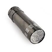 Osvětlení LED svítilny / Lucerny a stanová světla / Svítilny do ruky LED 80 Lumenů 1 Režim Luminus SST-50 AAA Protiskluzové držadlo