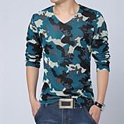 メンズカジュアル長袖Tシャツ