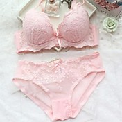 encaje bordado conjuntos de sujetador atractivos de las mujeres