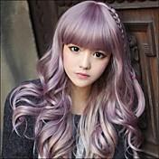 Japanski Harajuku Zippe Mix Purple Postupno Kovrčava Lolita Cosplay stranka Wig