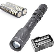 Z5 Linternas LED Luces para bicicleta Linternas y Lámparas de Camping Linternas HID Linterna de submarinismo 3000 Lumens Modo Cree XM-L T6