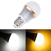 温白色とクールな白色光がボール電球を率い5630smd 560lm 2600-7000k調光可能なE27 7ワット(220V)