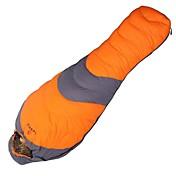 Bolsa de dormir Saco Mummy Sencilla -10°C Plumón de Pato80 Camping Al Aire LibreA Prueba de Humedad Impermeable A prueba de viento