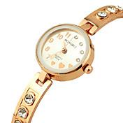 ℃&C女性のカジュアル合金クォーツ時計