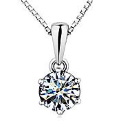Šperky Náhrdelníky s přívěšky Stříbro Stříbro Dámské Stříbrná Svatební dary