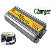 220V ACコンバータ車のインバータ電源m3000cdに充電器、12VのDCとmeind®パワーインバーター3000ワット