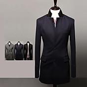 Nuevo Testamento&la moda de Max hombres cultivan la chaqueta del traje largo