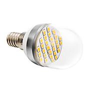 4W E14 Bombillas LED de Globo 30 SMD 2835 280 lm Blanco Cálido AC 100-240 V