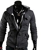 de  hombres de algodón con capucha de dos piezas como abrigo