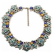 collar de moda collares de flores de época& collar de gargantilla declaración colgantes de cristal