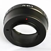 Pentax pk k montaje de lentes para Olympus Panasonic micro 4/3 adaptador M43 GH3 e-p5 GF6