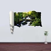 植物の 風景画 ウォールステッカー 3D ウォールステッカー 飾りウォールステッカー 材料 取り外し可 ホームデコレーション ウォールステッカー・壁用シール