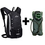 12 L Paquetes de Mochilas de Camping Ciclismo Mochila Pack de Hidratación y Bolsa De AguaPesca Escalada Natación Deportes recreativos
