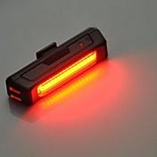 Luzes de Bicicleta / Luz Frontal para Bicicleta / Luz Traseira Para Bicicleta LED Ciclismo Fácil de Transportar Lumens USB Ciclismo
