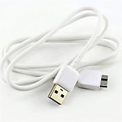 nabíjení / data synchronizovat / vysokorychlostní micro USB 3.0 abs kabely pro Samsung Poznámka 3/4 a S5