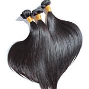 3 PC / porción pelo recto brasileño de alta calidad, sin derramamiento, ningún enredo 100% virginal del pelo humano sin procesar