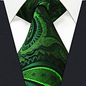 Hombre Todas las Temporadas Vintage Bonito Fiesta Trabajo Casual Seda Corbata