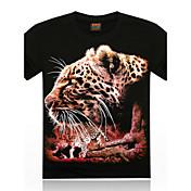 MEN Tシャツ ( コットン/オーガニックコットン ) カジュアル ラウンド - 半袖
