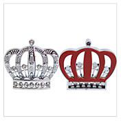 SHUNWEI® Car Decoration Diamond Crystal Crown Branding 3D Sticker