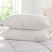 ベッド用枕 , ホワイト 合成マイクロファイバー100%