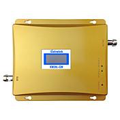 señal 3g 900mhz repetidor wcdma 2100mhz amplificador de la señal del teléfono celular 3g umts pantalla lcd de refuerzo de doble banda GSM
