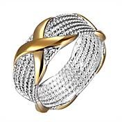 Prstýnky Denní Šperky Postříbřené Prsten 1ks,6 7 9 Stříbrná