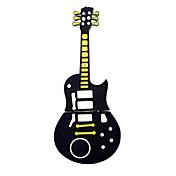 かわいい黒のギタースタイルのUSB 2.0フラッシュメモリスティックペン親指ドライブストレージ1ギガバイト