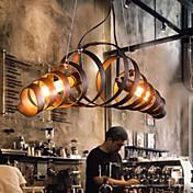 Lámparas Araña ,  Moderno / Contemporáneo Galvanizado Característica for Mini Estilo MetalSala de estar Dormitorio Comedor Habitación de