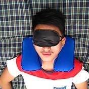 portátil de viaje de tres piezas de la almohada inflable