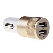 cargador de coche universal para material metálico para el iphone 6 / iphone 6 plus y otros