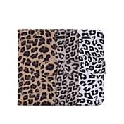 Til iPhone 8 iPhone 8 Plus iPhone 6 iPhone 6 Plus Etuier Pung Kortholder Med stativ Flip Mønster Heldækkende Etui Leopardtryk Hårdt