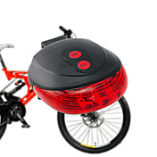 自転車用ライト / 後部バイク光 Laser - サイクリング 防水 / コンパクトデザイン 単四電池 ルーメン バッテリー キャンプ/ハイキング/ケイビング / 日常使用 / サイクリング