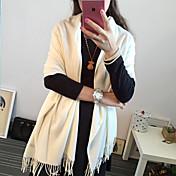 Žena Roztomilý / Na běžné nošení Bavlna Šátek,Obdélníkový Jednobarevné