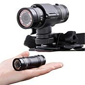 nuevo mini deporte f9 dv hd 1080p se divierte la cámara a prueba de agua la cámara de acción digital videocámara de deportes extremos
