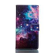 のために Sonyケース / Xperia Z3 カードホルダー / ウォレット / スタンド付き / フリップ ケース フルボディー ケース 風景 ハード PUレザー のために Sony Sony Xperia Z3 Compact / Sony Xperia Z3