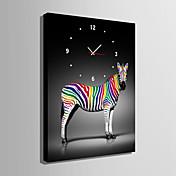 Rectangular Moderno/Contemporáneo Reloj de pared , Otros Lienzo35 x 50cm(14inchx20inch)x1pcs/ 40 x 60cm(16inchx24inch)x1pcs/ 50 x