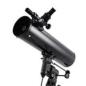 130EQ 130mm望遠鏡 反射器 マニュアル赤道 高解像度 防水 Fogproof ジェネリック 携帯用ケース 屋根のプリズム 広角 イーグルビジョン フィールドスコープ 325