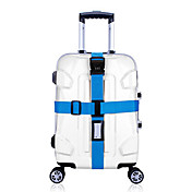 1枚 旅行かばん用ベルト 番号錠 耐久 調整可能 のために バッグ用小物オレンジ パープル グリーン ブルー ピンク