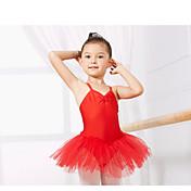 Ropa de Baile para Niños Leotardos Niños Entrenamiento Espándex Sin mangas