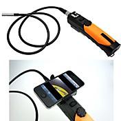 無線LANワイヤレスPC、携帯電話6は、8.5ミリメートル検査カメラボアスコープの内視鏡を導きました