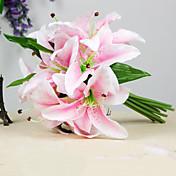 Polyester Lilie Umělé květiny