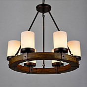 Lámparas Colgantes ,  Campestre Pintura Característica for Mini Estilo MetalSala de estar Dormitorio Comedor Habitación de
