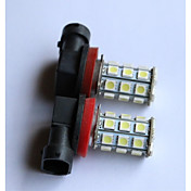 H1 / H3 / H4 / H7 / H8 / H11 / 9006分の9005 5050-27smd車のフォグライト、黄色、赤、青、白