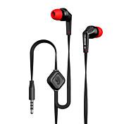 langsdom jd88 drive-by-wire auriculares de metal en la oreja los auriculares con control de volumen de micrófono auricular con aislamiento
