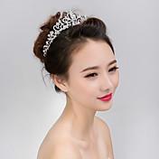joyería del pelo de las tiaras de la mujer para la fiesta de la boda