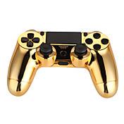 Controladores de juego dorado eléctrico para ps4
