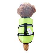 犬用品 ベスト / ライフジャケット オレンジ / グリーン 犬用ウェア 夏 / 春/秋 防水