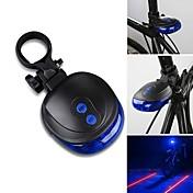 後部バイク光 LED / Laser - サイクリング 防水 単四電池 1000 ルーメン バッテリー サイクリング-照明